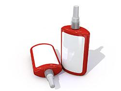 红色液态生料带瓶