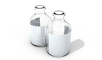 抗生素透明玻璃瓶